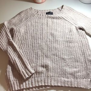 knit pullover/ long sleeve shirt